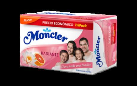 Jabón Moncler Radiante 3x 145g